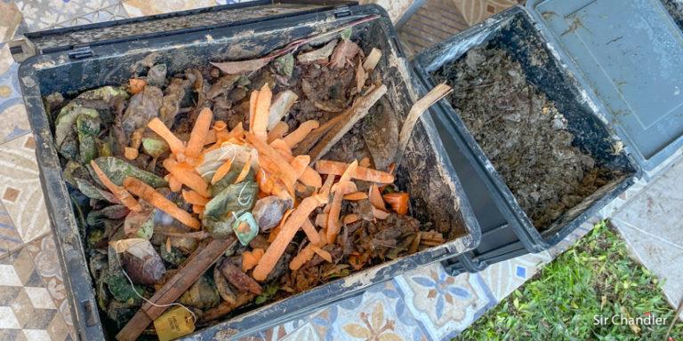 El compost y la huerta (la smart home que no se enchufa)