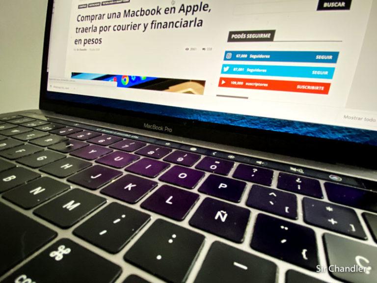 Comprar una Macbook Pro o iMac con Ñ ¿Donde se encuentra?
