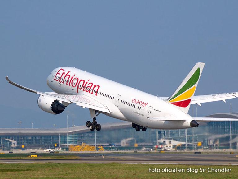 Ethiopian informa que vuelve a volar a la Argentina en diciembre