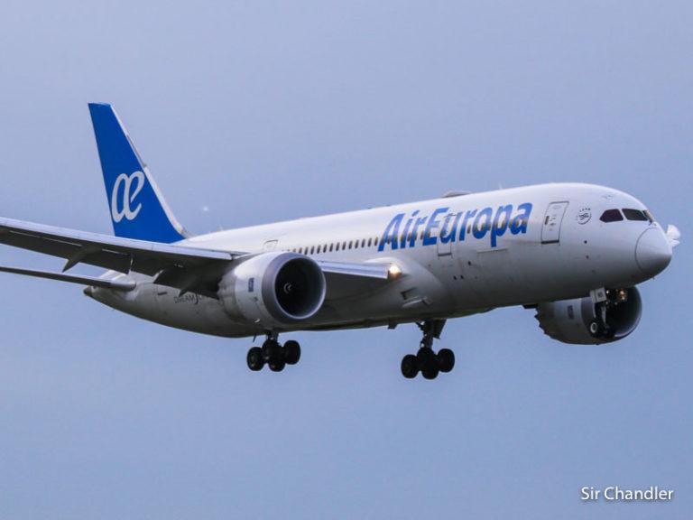 Vuelos de Air Europa autorizados de agosto