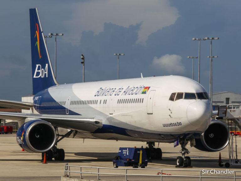 BOA pone 2 vuelos por semana a Bolivia en octubre