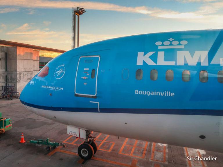 KLM aumenta a 5 vuelos semanales desde diciembre