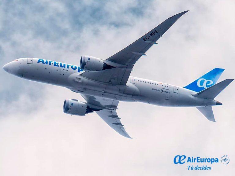 Air Europa repetirá en octubre los vuelos especiales