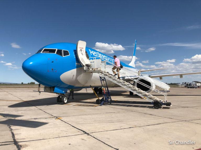 Aerolíneas Argentinas hizo su último vuelo a Salvador por varios meses