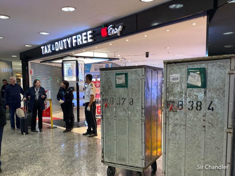 Reabren el free shop de arribos en Ezeiza en el día ¿récord? de arribo de pasajeros