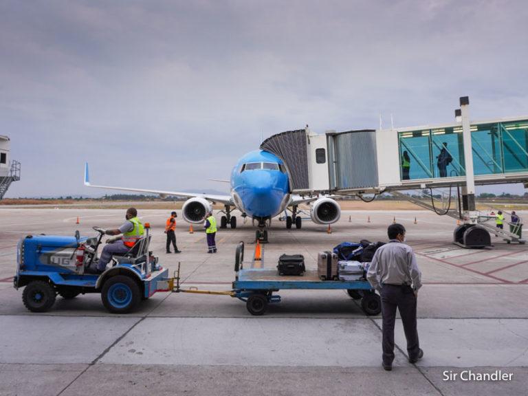 El primer vuelo