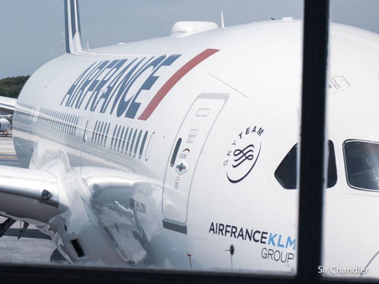 El Boeing 787 de Air France en detalle