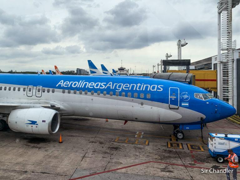 Aerolíneas Argentinas muda algunos vuelos de cabotaje a Ezeiza provisoriamente