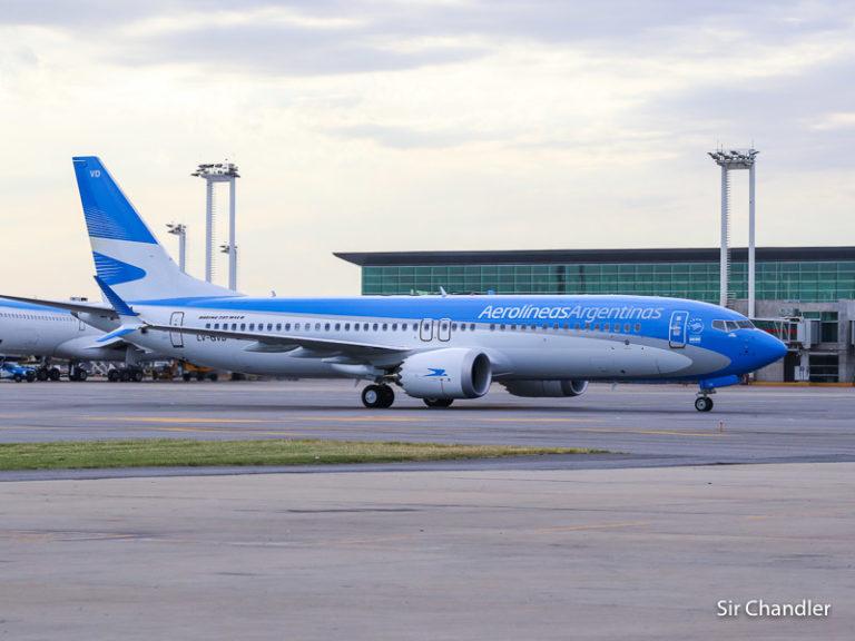 El Boeing 737 MAX volvió a volar en la Argentina por casi dos horas