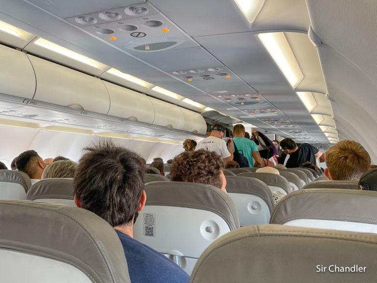 Una particularidad de los desembarques ordenados y el balanceo del avión