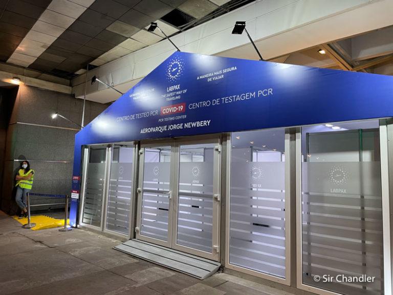 Stamboulian se hace cargo provisoriamente de los testeos COVID en Ezeiza y Aeroparque