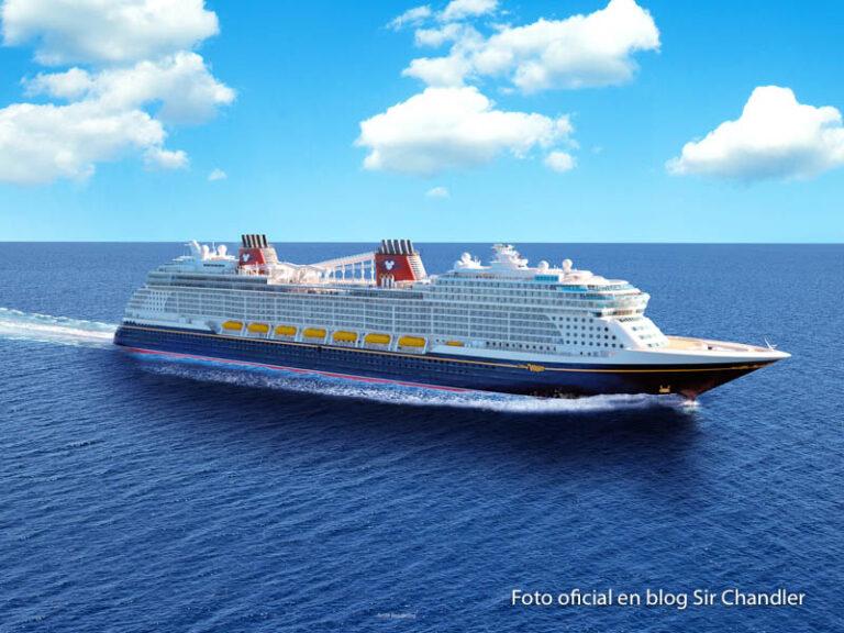 Disney mostró imágenes del nuevo crucero que zarpará en 2022: el Disney Wish