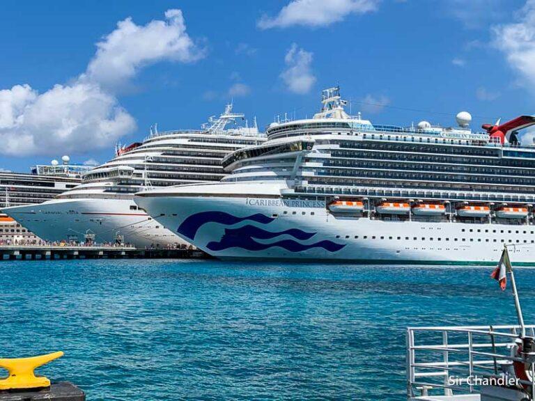 Los cruceros podrían salir con el 95% de vacunados