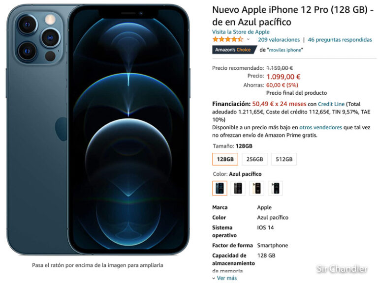 Comprar iPhone en España ¿conviene Amazon o Apple directo?