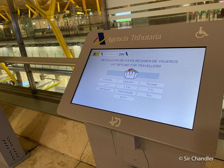Recuperando el IVA en Madrid con la oficina cerrada en el aeropuerto
