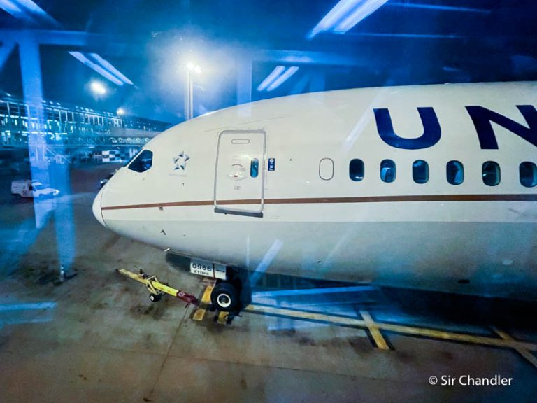 Crónica de vuelo a Houston en un Boeing 787 de United