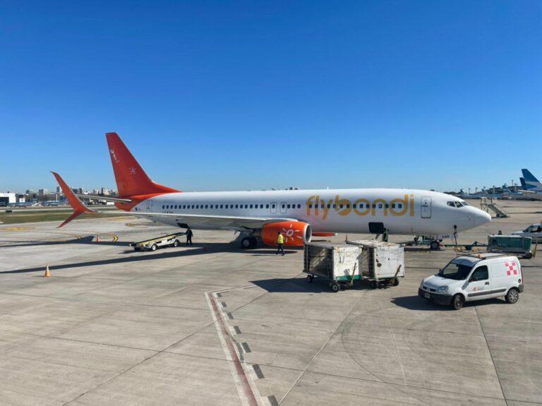 Flybondi aumenta la cantidad de vuelos de cabotaje en agosto