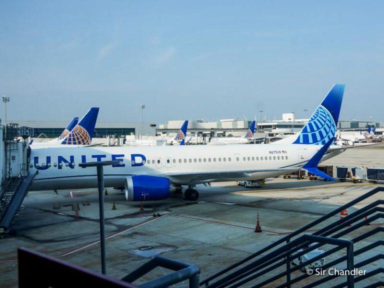 El vuelo con un 737 MAX de United entre Houston y Orlando
