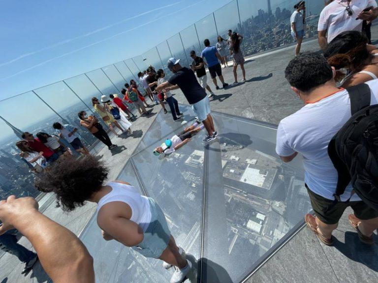 Edge: el mirador al lado del polémico The Vessel en New York