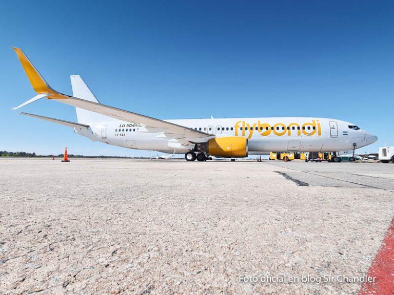 Flybondi recibió su cuarto avión