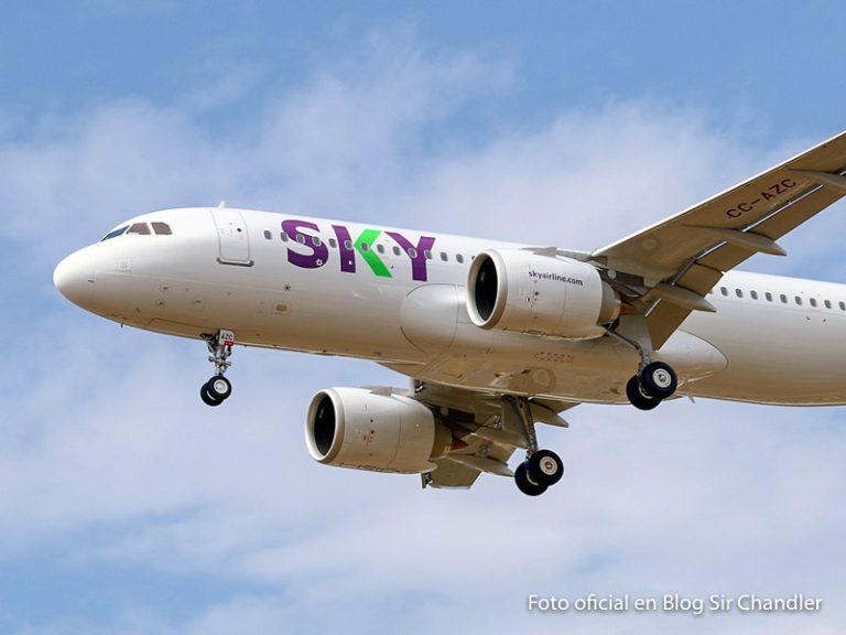 SKY confirma los vuelos del resto de octubre (hay aumento)
