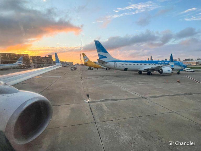 Crónica de vuelo entre Aeroparque y Trelew (para ir a Puerto Madryn)