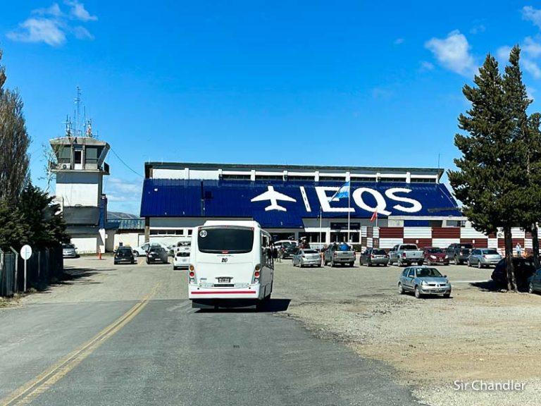Aeropuerto de Esquel: una de cal y otra de arena