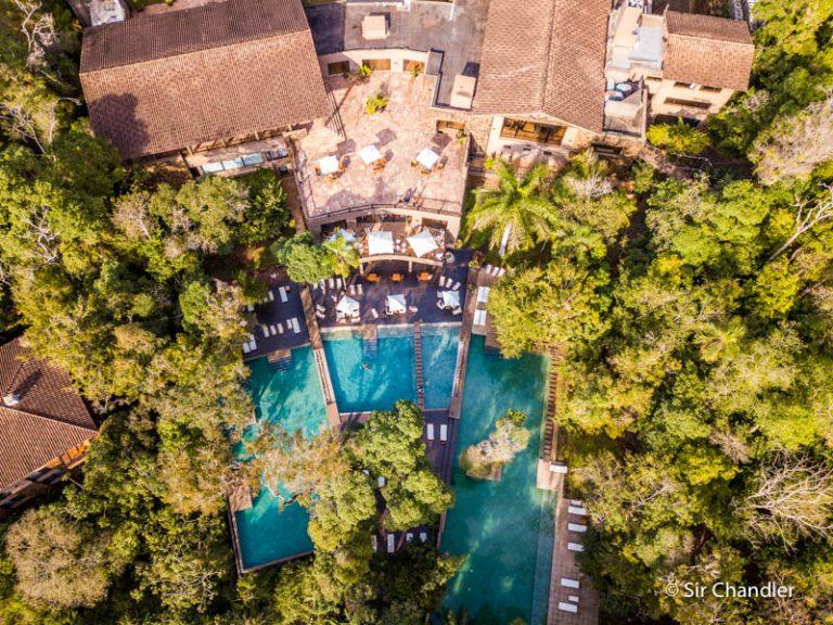 El hotel LOI Suites en Iguazú
